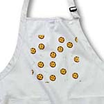 click on Cute Cartoon Milk and Chocolate Chip Cookies on White to enlarge!