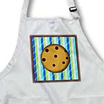 click on Yummy Chocolate Chip Cookie Design on Blue and Green Stripe to enlarge!