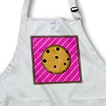 click on Yummy Chocolate Chip Cookie Design on Pink Stripe to enlarge!