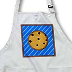 click on Yummy Chocolate Chip Cookie Design on Blue Stripe to enlarge!