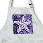 click on Painted Purple Starfish- Beach Themed Art- Sea to enlarge!