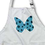 click on Teal Spotted Butterfly- Whimsical Art- Nature to enlarge!