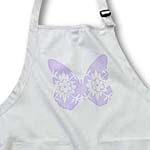 click on Lilac Floral Print Butterfly- Whimsical Art- Nature to enlarge!