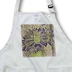 click on Purple and Green Sunflowers- Floral Art to enlarge!