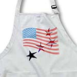 click on Dotted USA Flag and Stars- Patriotic Art to enlarge!