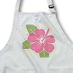click on Pink Hawaiian Flowers On A Light Gray Background to enlarge!
