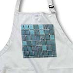 click on Teal Blue - Tiles Print to enlarge!
