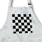 click on Checkered Black and White Squares- Art to enlarge!