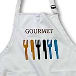 click on Gourmet Fork and Knife- Dining- Dinner Art to enlarge!