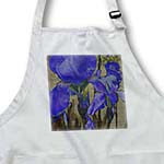 click on Purple Iris Flowers- Floral Art to enlarge!