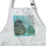 click on Two Pears- Abstract Art- Green Grunge Pears- Fruit to enlarge!