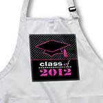 click on Stylish Class of 2012 Grad - Graduation Gift - Pink and Black to enlarge!