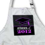 click on Stylish Class of 2012 Grad - Graduation Gift - Purple and Black to enlarge!