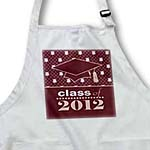 click on Stylish Class of 2012 Grad - Graduation Gift - Burgundy to enlarge!