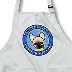 click on Owned By a French Bulldog Tan Coat with Black Mask- Blue to enlarge!