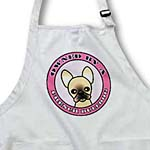 click on Owned By a French Bulldog Tan Coat with Black Mask- Pink to enlarge!