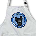 click on Owned By a French Bulldog Black Coat - Blue to enlarge!