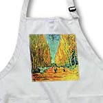 click on Aqua n Yellow Framed Van Gogh Landscape to enlarge!