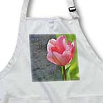 click on Pink Tulip Blossoming in Spring- Flowers to enlarge!