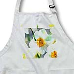 click on White Daffodil Abstract Floral- Spring Flowers to enlarge!