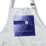 click on Maid of Honor, Blue Ribbon with Flower  to enlarge!