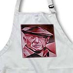 click on Picasso in Pink - Pink artist, blue, cubism, man, pablo picasso, picasso, signature, Pink period to enlarge!