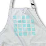 click on Aqua Blue Squares - Designs by Color - Art to enlarge!