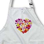 click on Spring Floral Painted Heart Art to enlarge!