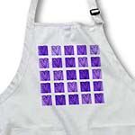 click on Purple Hearts and Squares - Designs by Color - Lovable Art to enlarge!