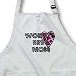 click on Worlds Best Mom Floral Heart - Mothers Day and Every Day to enlarge!