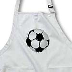 click on Painted Soccer Ball - Sports - Fun Art to enlarge!