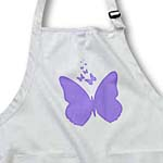 click on Purple Butterflies - Nature Whimsy - Art to enlarge!