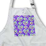 click on Retro 60s Faded Pastel Peace Signs Flower Hearts on Purple to enlarge!