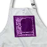 click on Monotone floral trellis design in negative on a purple damask background to enlarge!