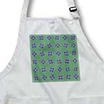 click on Purple Brassica Flower Pattern on Green that is Coordinating with Colorful Abstract Flower Gardens to enlarge!