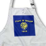 click on State Flag of Oregon (PD-US) to enlarge!