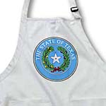 click on State Seal of Texas (PD-US) to enlarge!