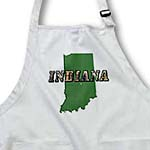 click on State Map and Picture Text of Indiana to enlarge!