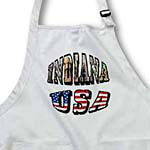 click on Picture Text of Indiana and USA to enlarge!