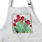 click on Bouquet of Tulips - spring, spring flowers, tulip, tulips, red tulips, cut flowers, bouquet,  to enlarge!
