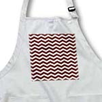 click on Chocolate Brown and White Chevron Zig Zag Stripe Pattern Retro and Chic to enlarge!