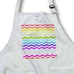 click on Bright Colorful Rainbow Chevron Zig Zag Stripes aka Multicolored to enlarge!