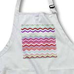 click on Red Pink and Green Colorful Zig Zag Chevron Pattern inspired by knitwear sweaters to enlarge!