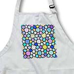 click on Rainbow Multicolored Star Pattern with Stained Glass Effect - Bright Colorful Bold and Vibrant to enlarge!