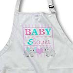 click on BABY Shower - Cute Twin Elephants Pink and Blue to enlarge!