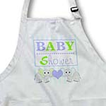 click on BABY Shower - Cute Twin Elephants Green and Blue to enlarge!