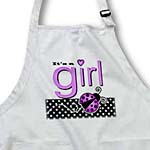 click on Its a Girl - Cute Purple Ladybug Black and White Polka Dots to enlarge!