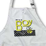 click on Its a Boy - Cute Yellow Bumble Bee Black and White Polka Dots to enlarge!