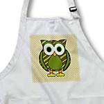 click on Cute Owl Green Stripes and Dots 1 to enlarge!