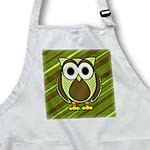 click on Cute Owl Green Stripes and Dots 3 to enlarge!